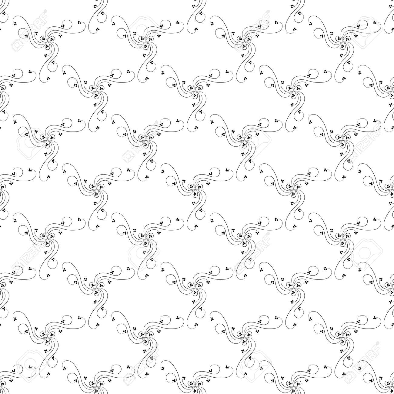 Abstract pattern for print, textiles etc. Vector - 160002167