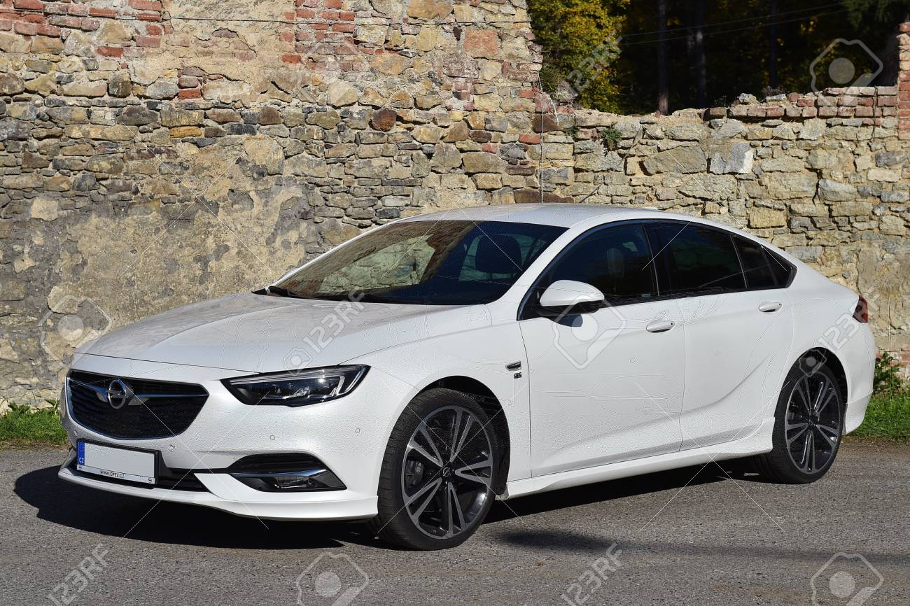 Prague Czech Republic October 17 2017 Opel Insignia Opc Stock Photo Picture And Royalty Free Image Image 88516031
