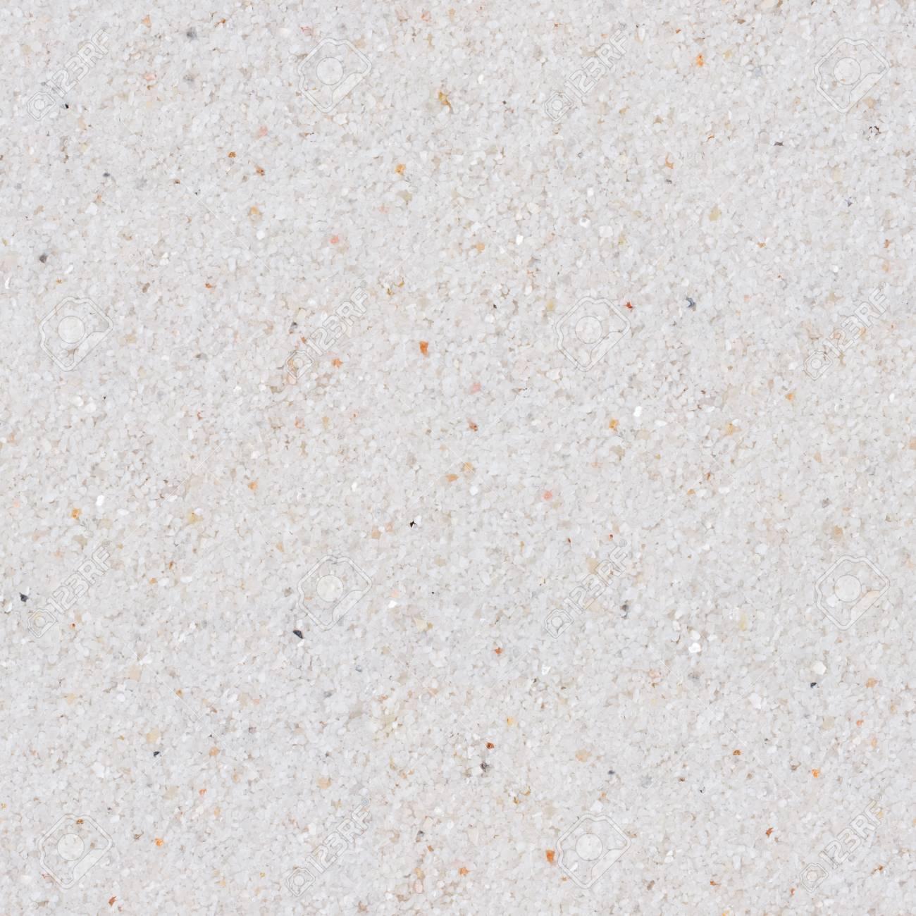 White Sand Seamless Square Texture Tile Ready Stock Photo