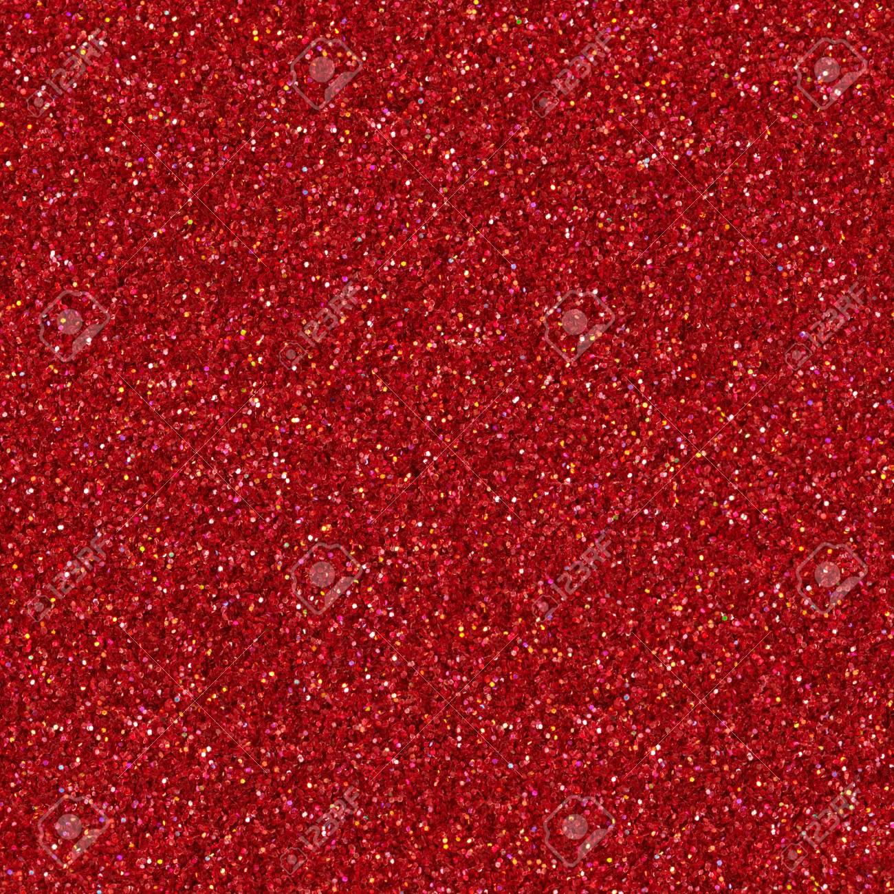 Immagini Stock Sfondo Rosso Glitter Struttura Quadrata Senza