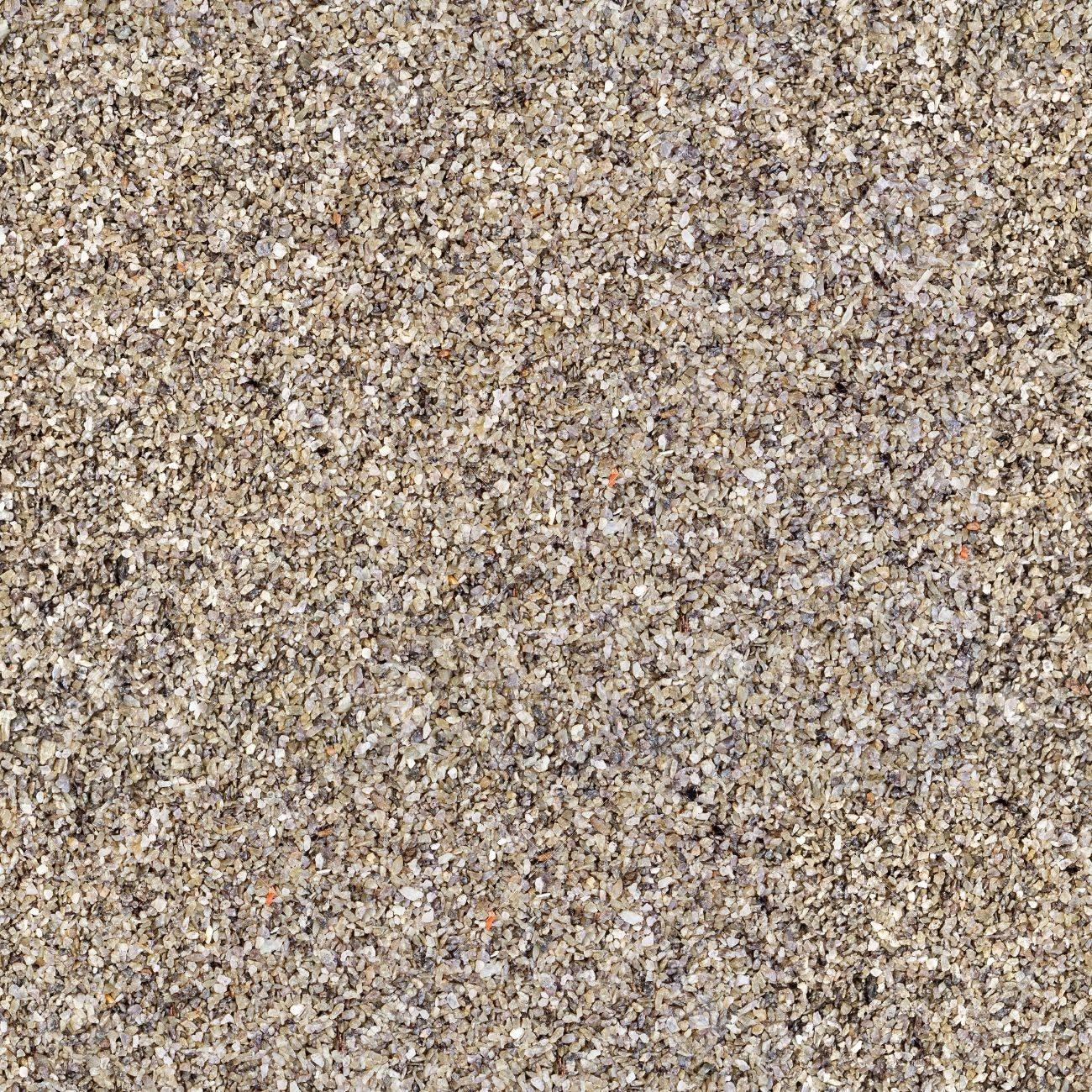Gravel Texture From Quartz Sand Seamless Square Texture Tile