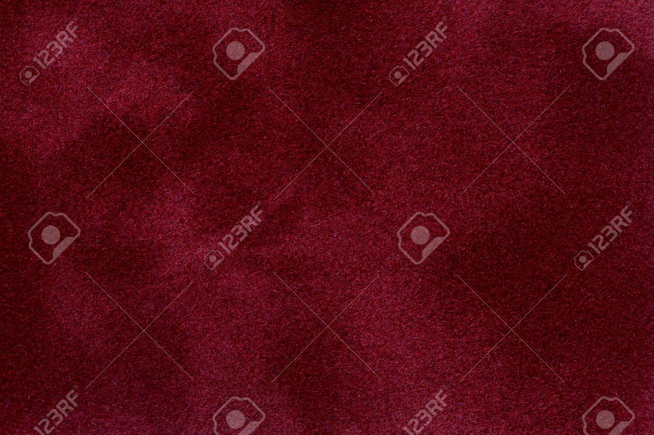 The surface of the red velvet cover on the poker table. High quality image. - 71040269