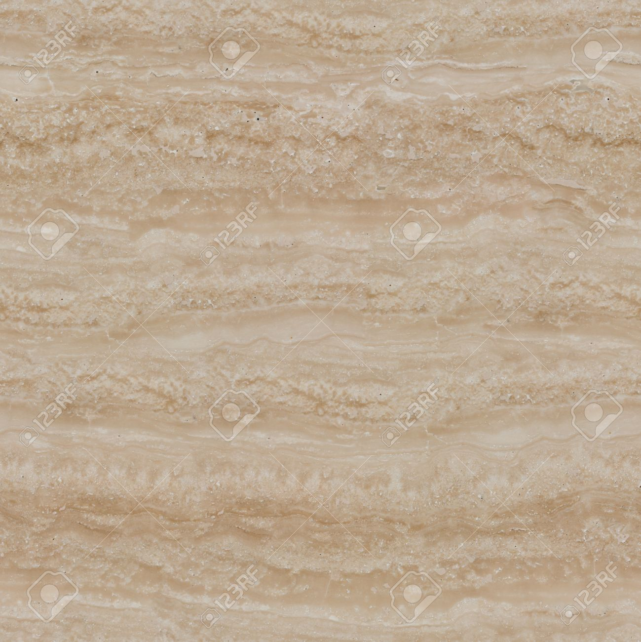 Beige Marble Travertine Texture Seamless Square Background Tile Ready High Resolution Photo