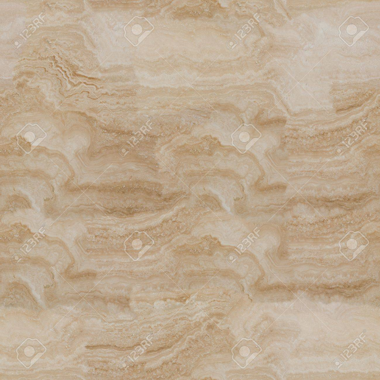 Travertine Stone Floor Tile Abstract Background Close Up Seamless