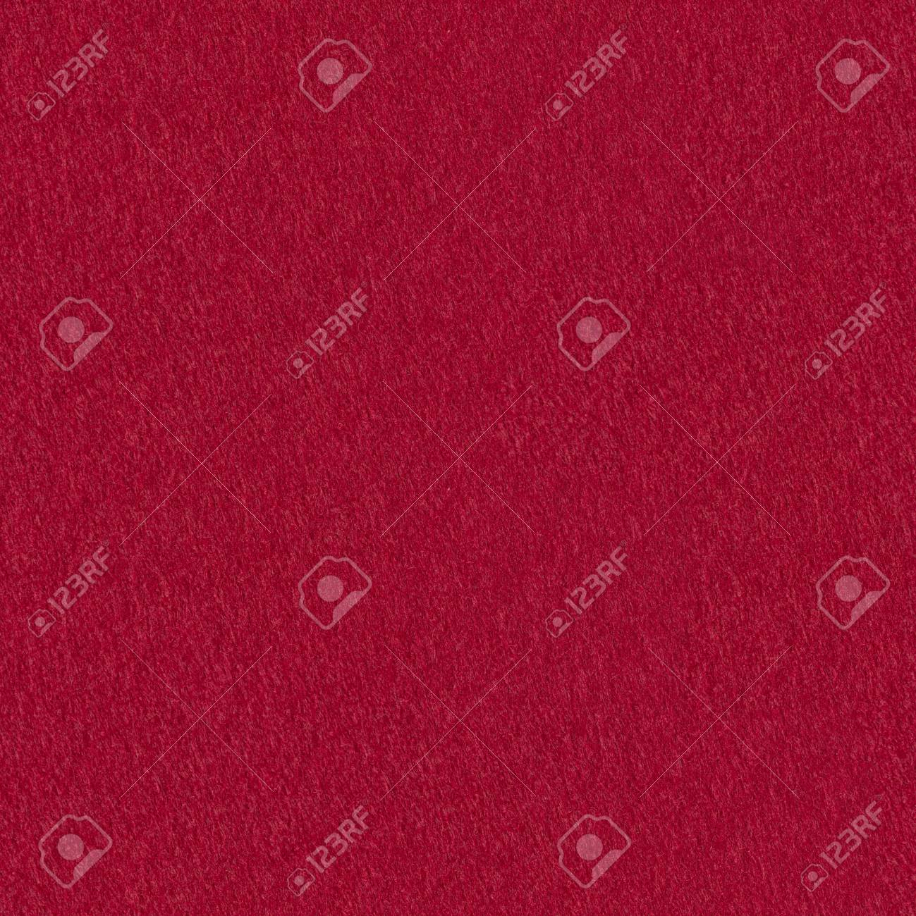Red Grunge Felt Useful For Christmas Background Seamless Square
