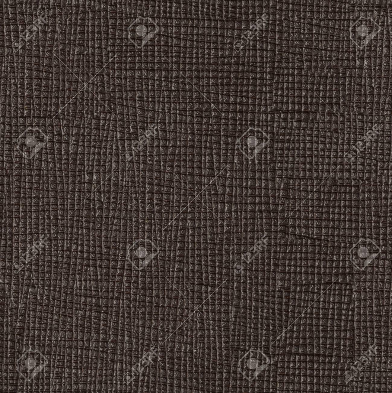 Texture De Cuir Marron Fonce Sur Macro Arriere Plan Carre Sans