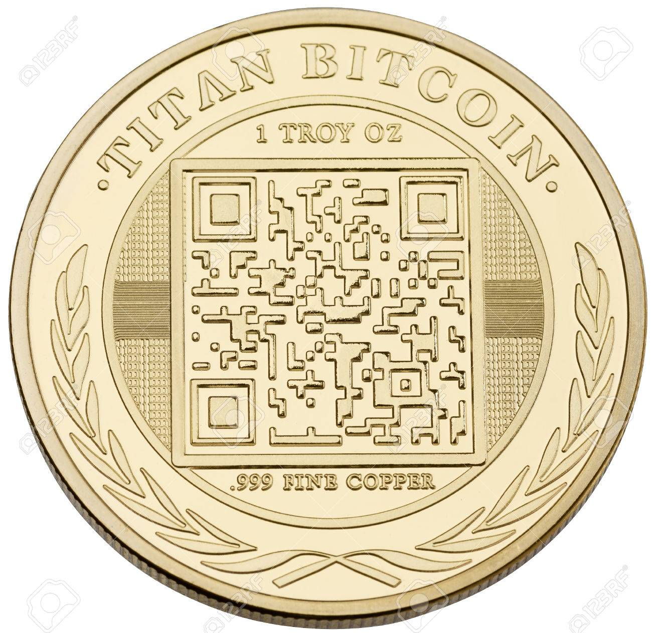 Photo golden bitcoin  High resolution photo