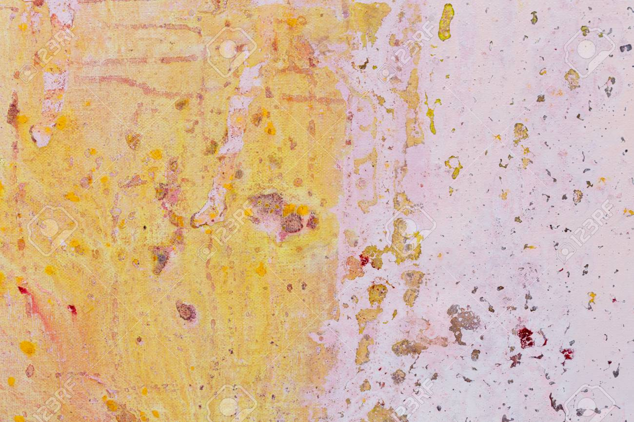 Abstract Painting Brush Strokes Colorful Abstract Background