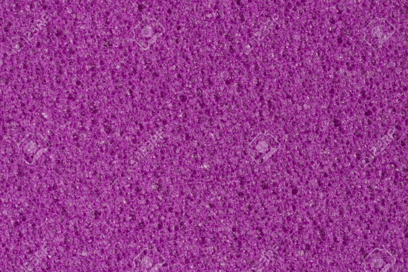 saturated violet foam texture with porous surface high resolution