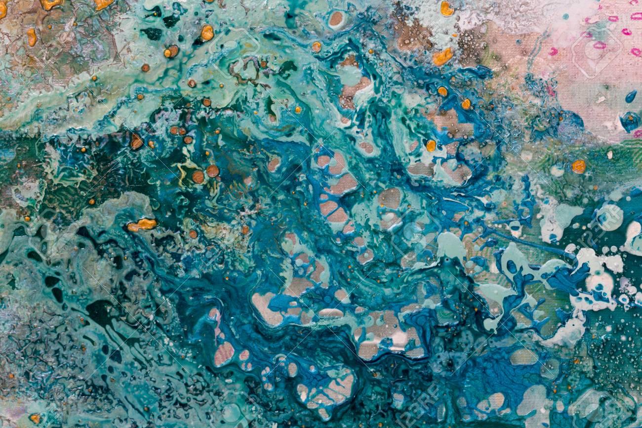 Abstrakte Kunst Mit Wasser Farbige Grenze Auf Rosa Hintergrund Foto Mit Hoher Auflosung Lizenzfreie Fotos Bilder Und Stock Fotografie Image 95451079