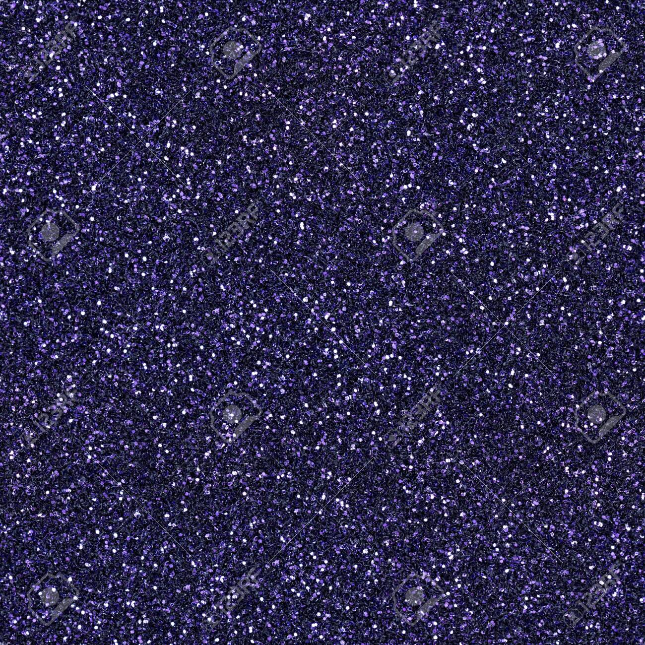 Bright violet glitter, sparkle confetti texture. Christmas abstract background, seamless pattern. - 147581681