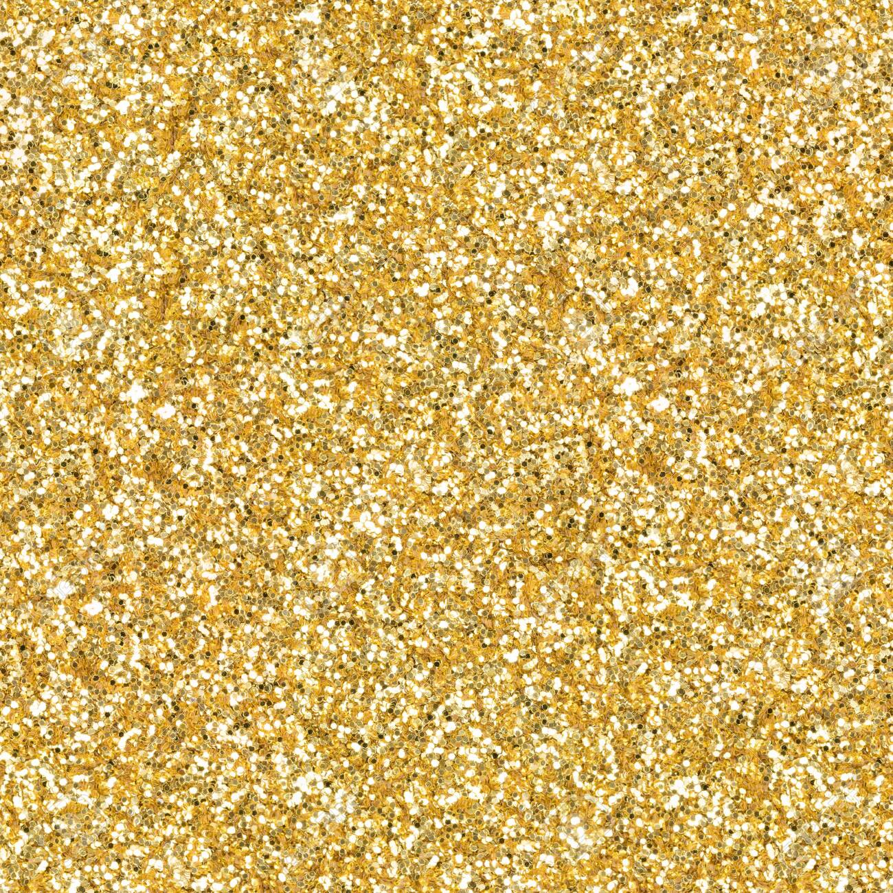 Golden glitter, sparkle confetti texture. Christmas abstract background. Ideal seamless pattern. - 156618077