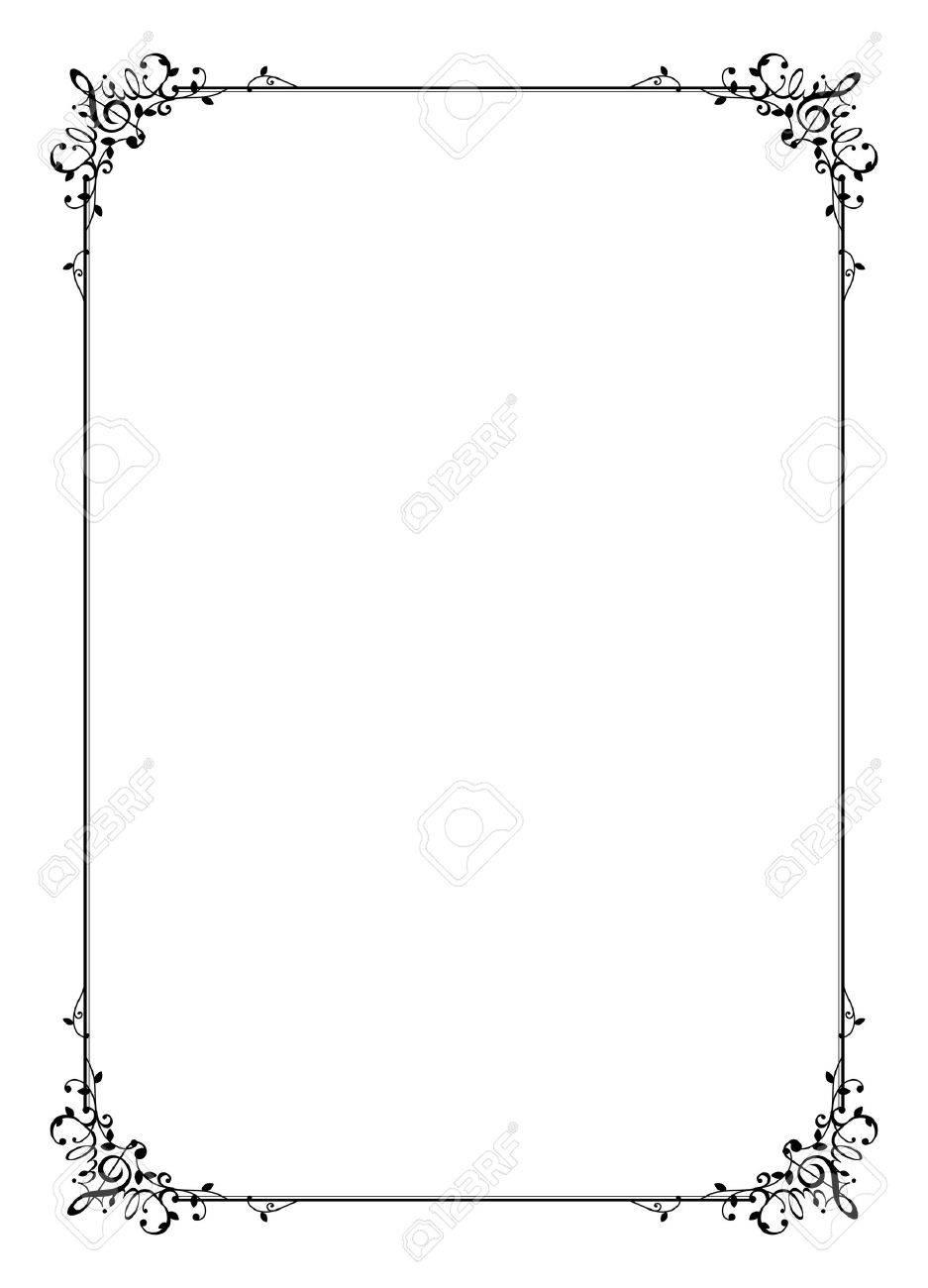 Frame Of Music Royalty Free Cliparts, Vectors, And Stock ...