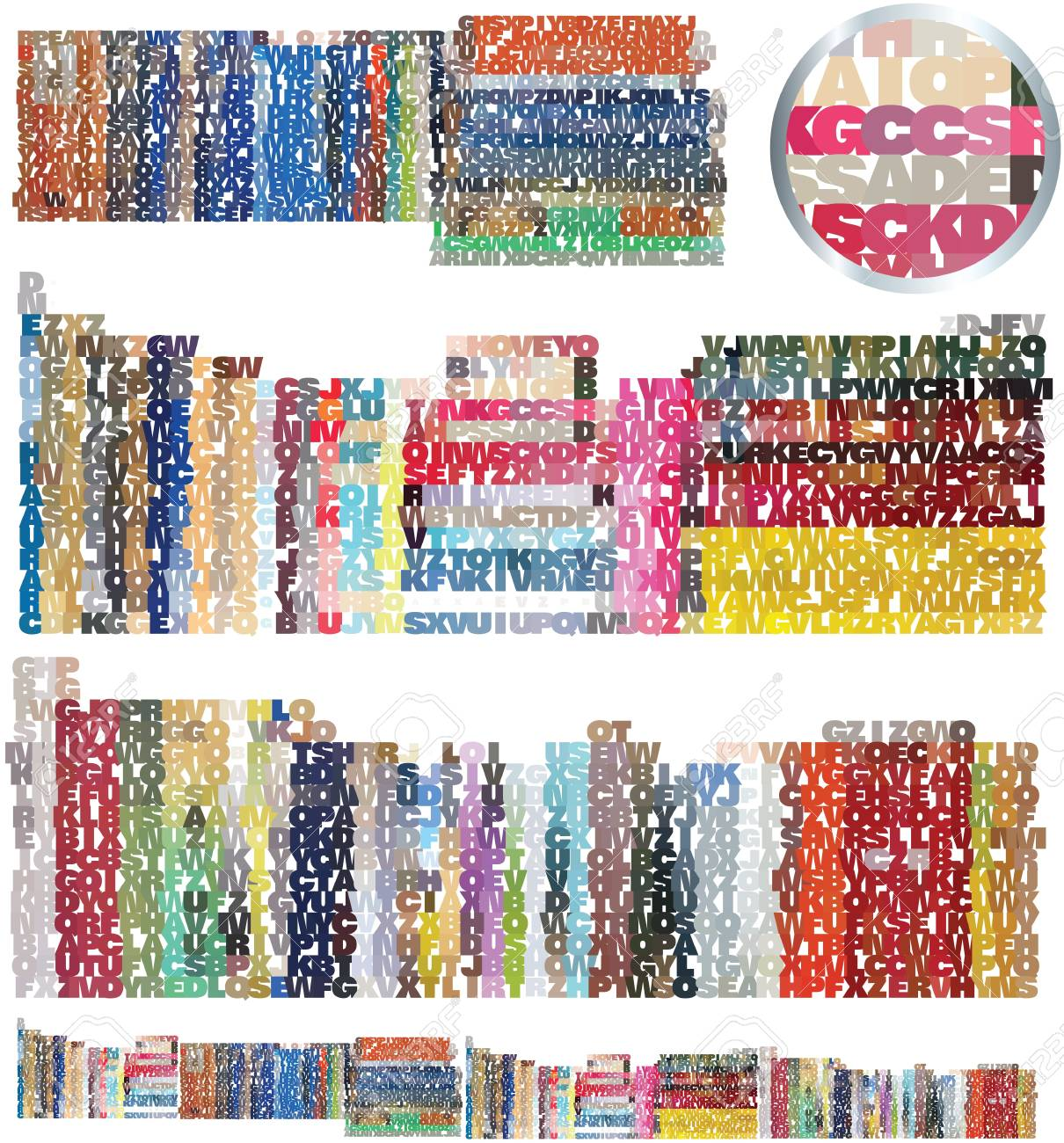 bookstore and library set Stock Vector - 12480046