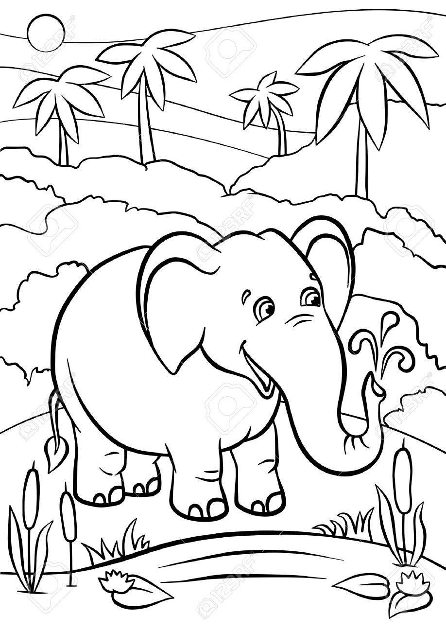 Großzügig Mama Und Baby Elefant Malvorlagen Zeitgenössisch - Entry ...