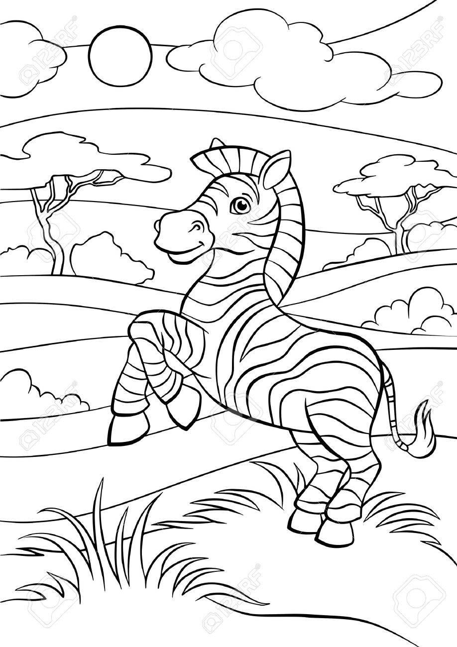 Nett Malvorlagen Zebra Bilder - Malvorlagen Von Tieren - ngadi.info