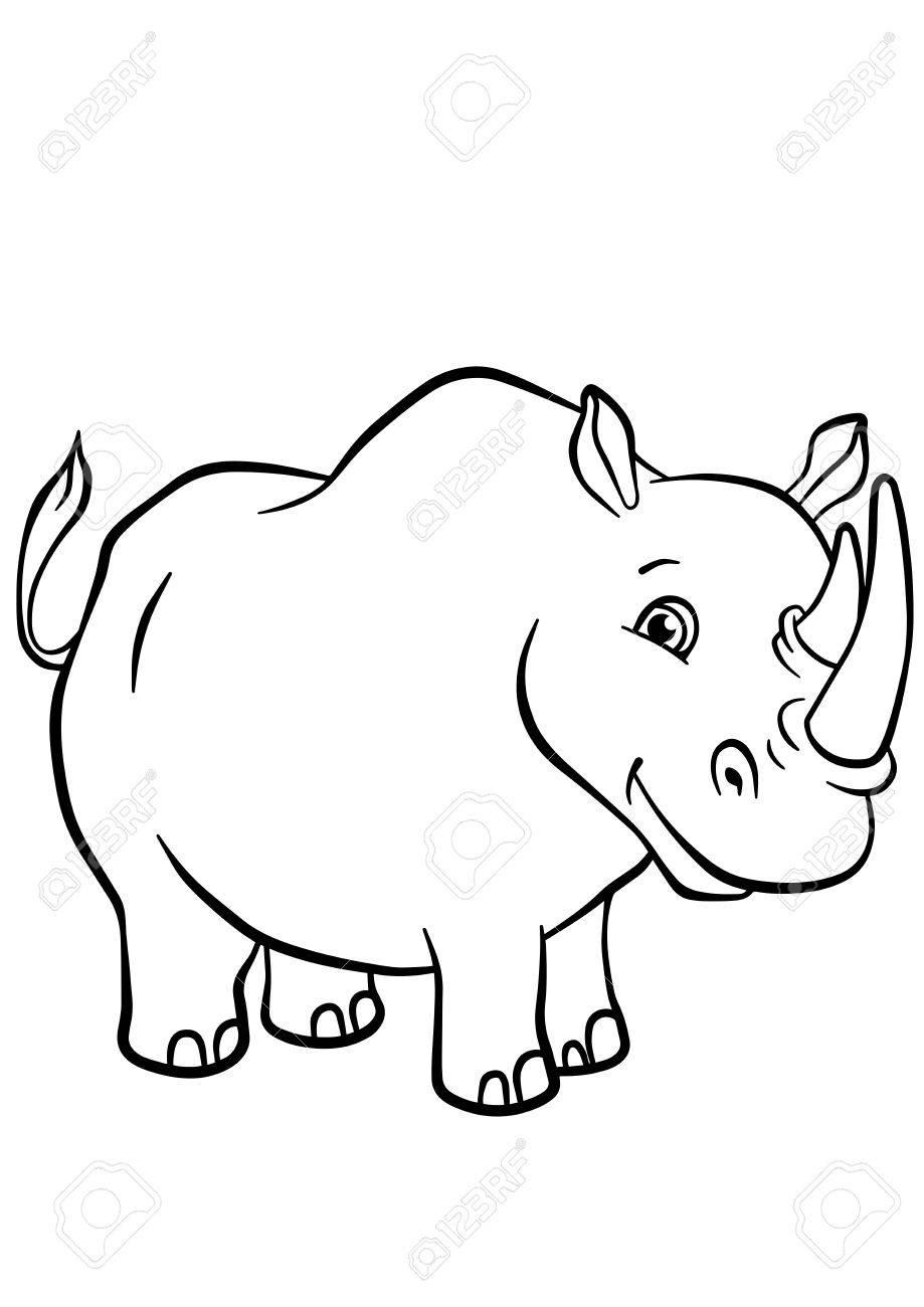 Increíble Páginas Para Colorear De Animales Lindos Viñeta - Ideas ...