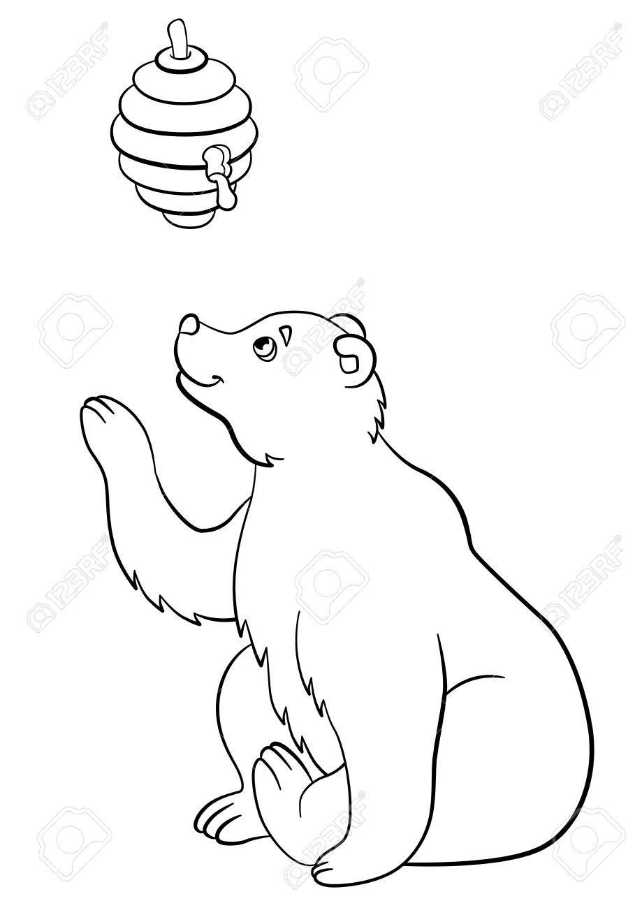 Wolf - wild animals coloring pages for kids, printable free | 1300x919