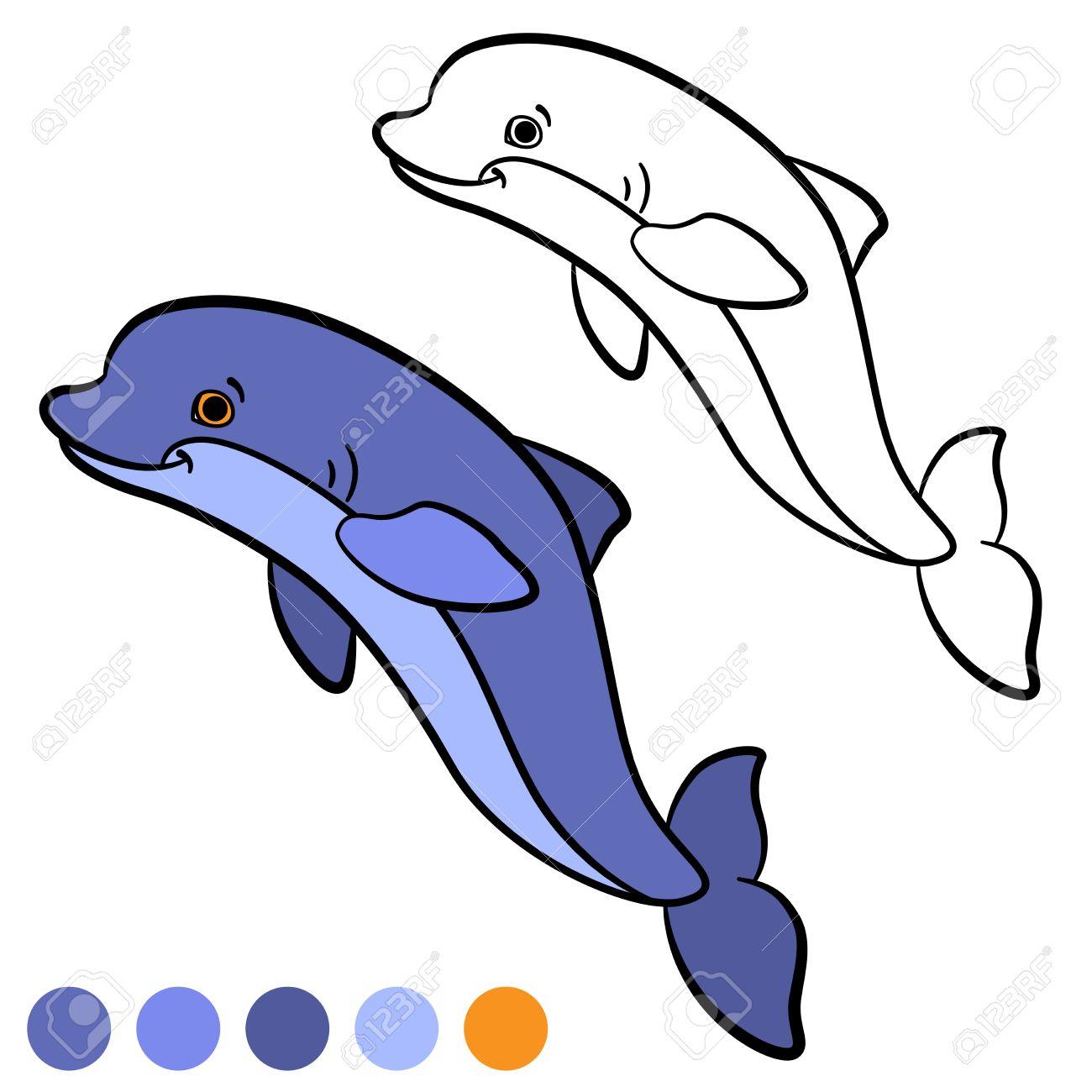Fantastisch Süße Delphin Malvorlagen Galerie - Druckbare Malvorlagen ...