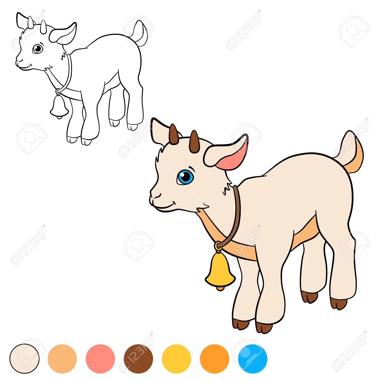 Excepcional Colorear Cabrito Goku Viñeta - Ideas Para Colorear ...