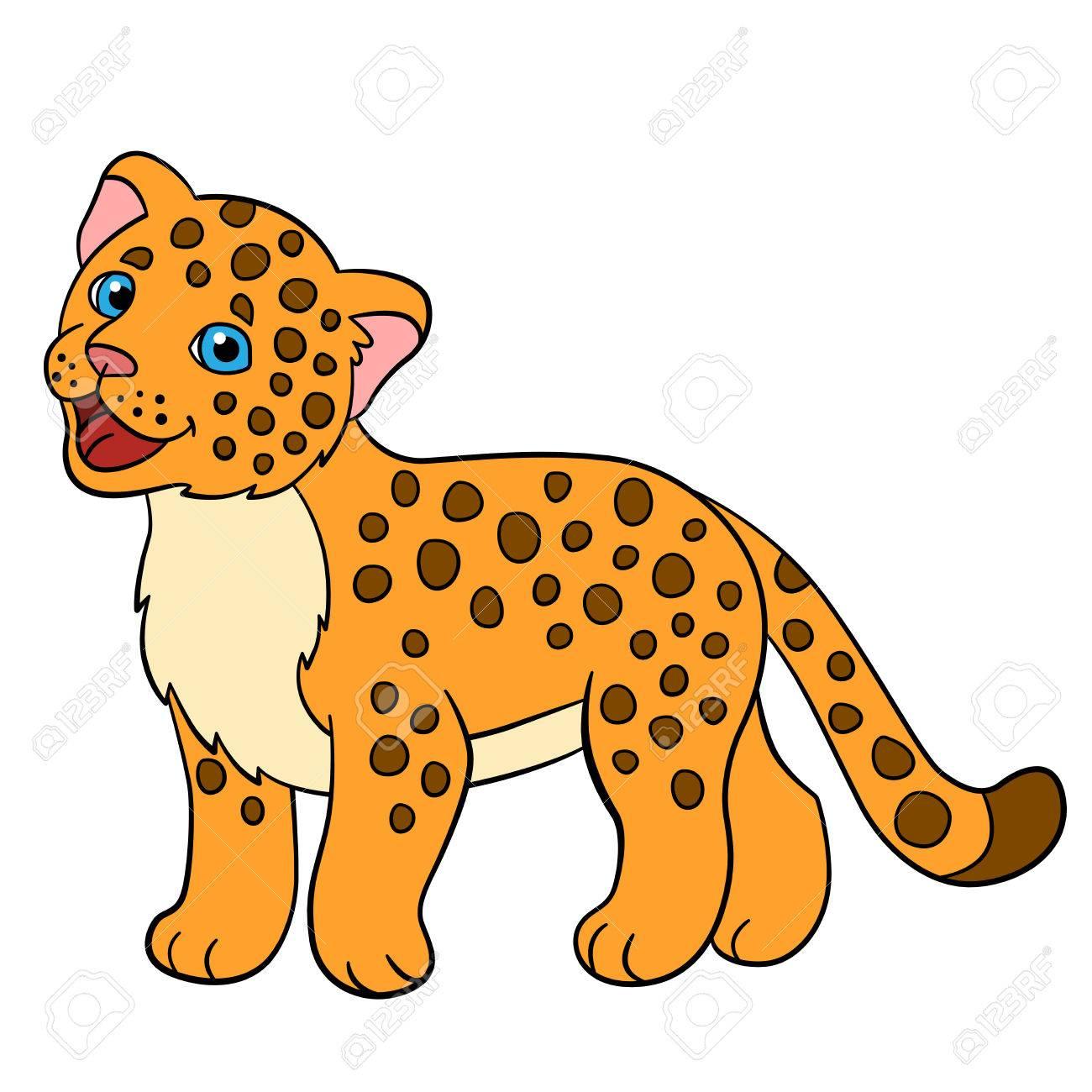 Dibujo Jaguar Infantil