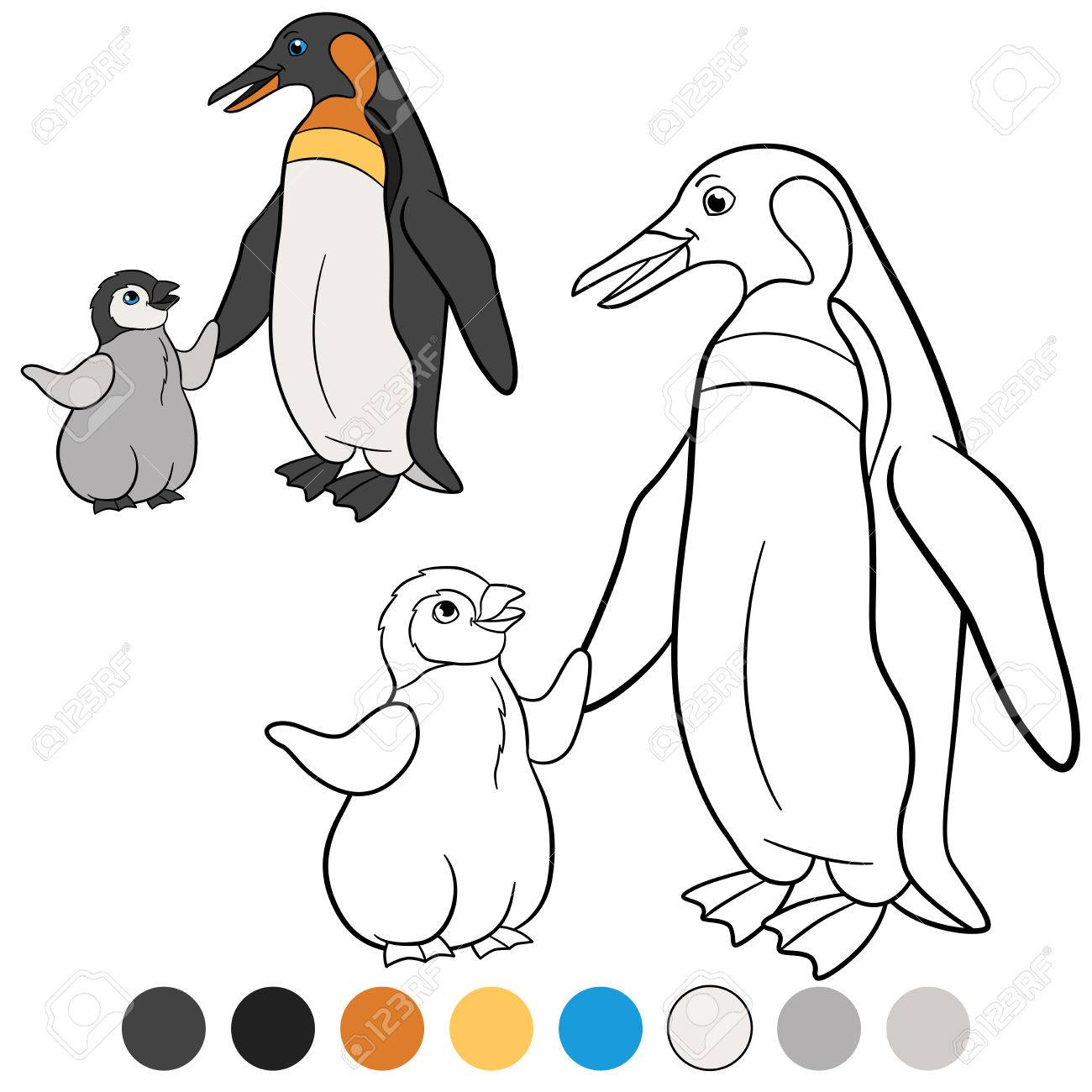 Beste Malvorlagen Von Baby Pinguinen Bilder - Druckbare Malvorlagen ...