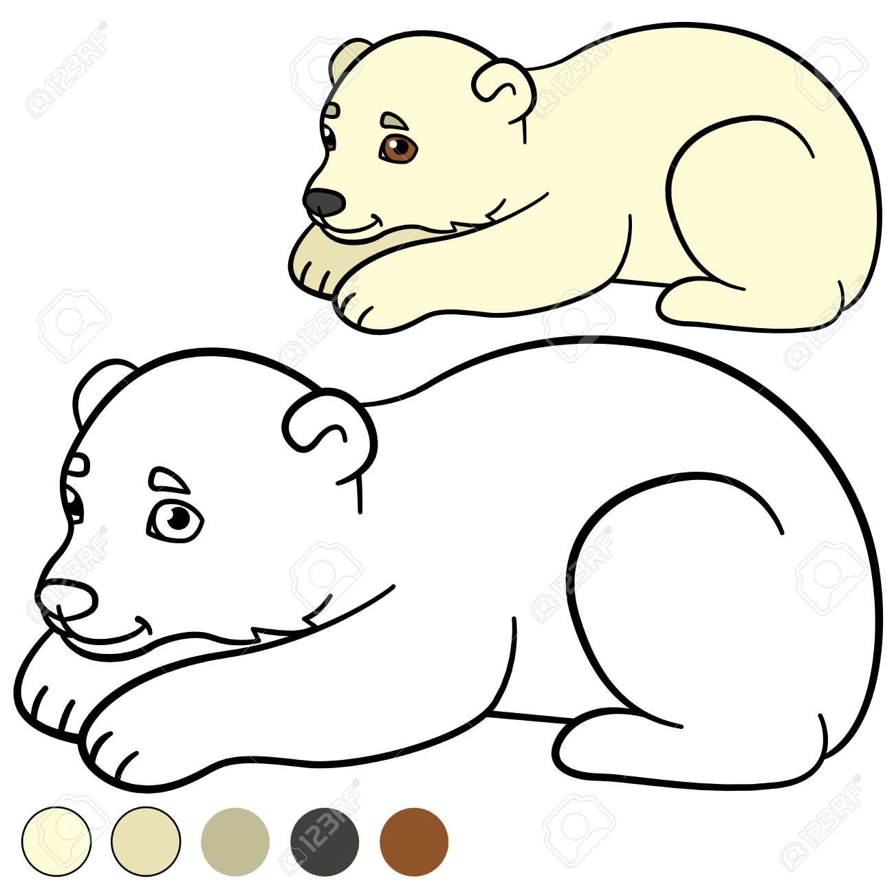 Atractivo Libre Oso Para Colorear Elaboración - Dibujos Para ...