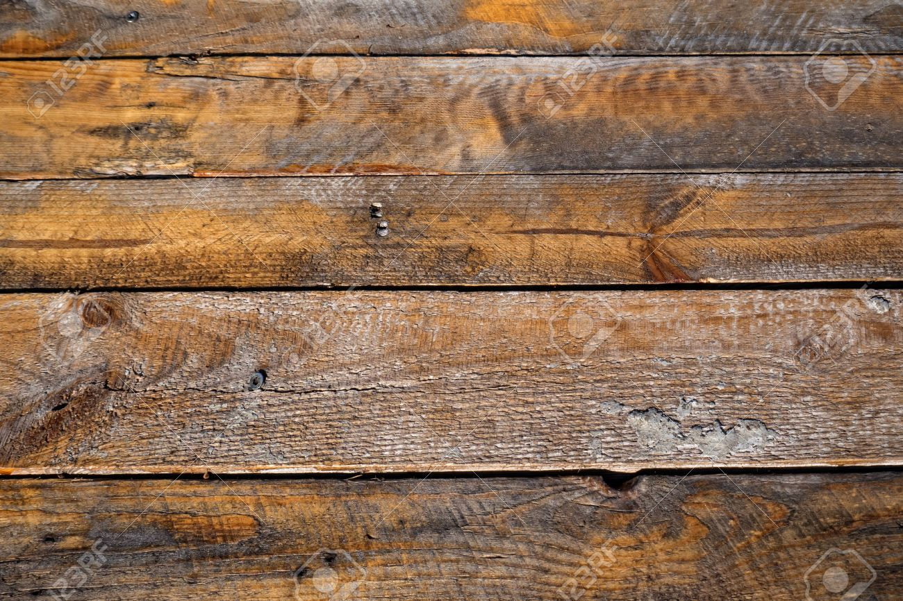Full Frame Of A Old Wood Floor Stock Photo   15111494