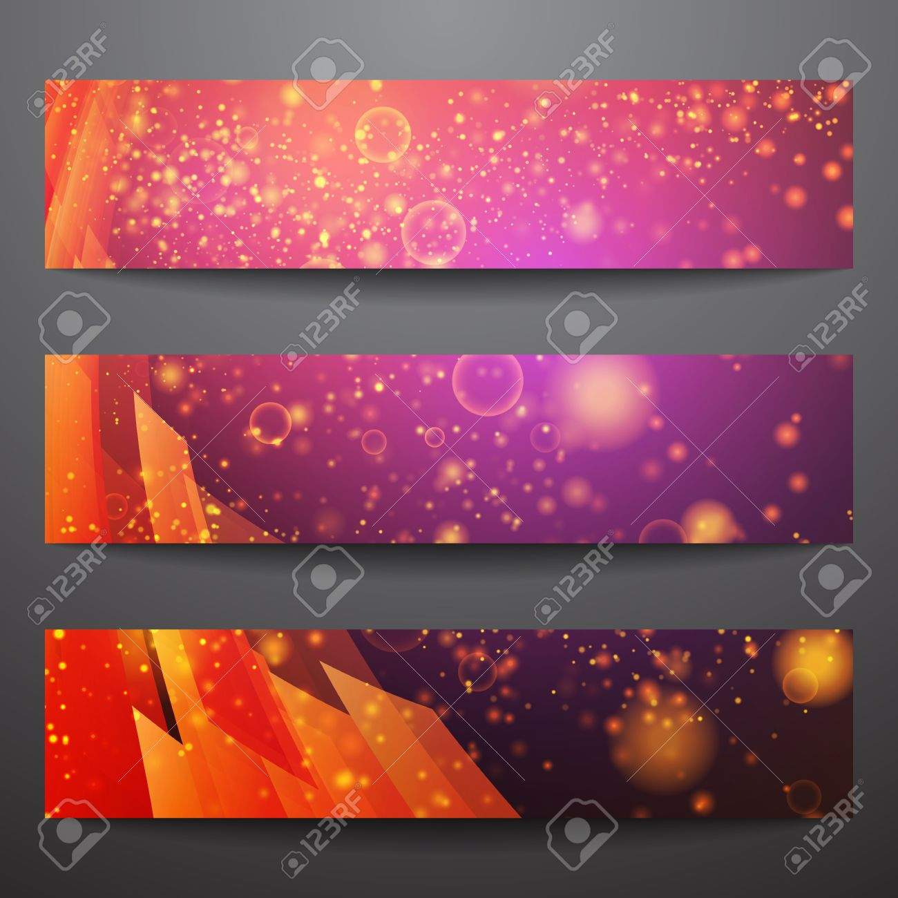 Abstract Vector Banners Business Banner Banner Background ...