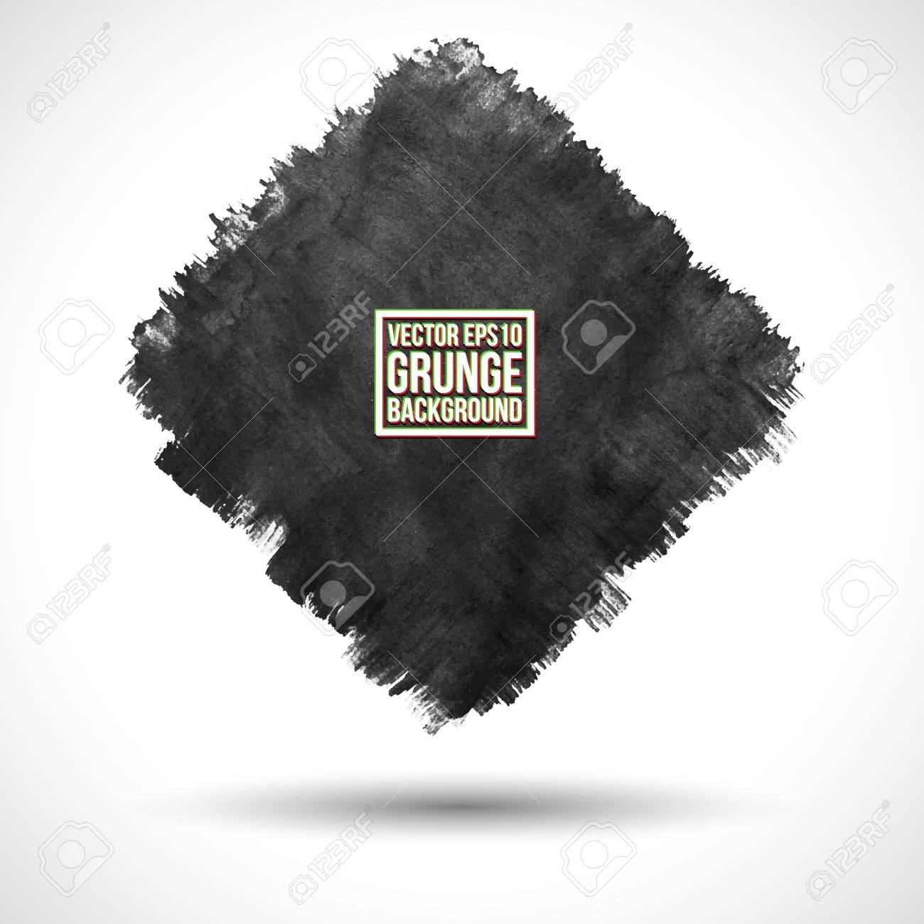 Grunge  Watercolor background Stock Vector - 18393449