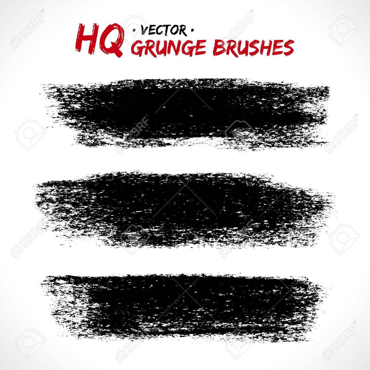 Set of grunge banners Stock Vector - 18393429