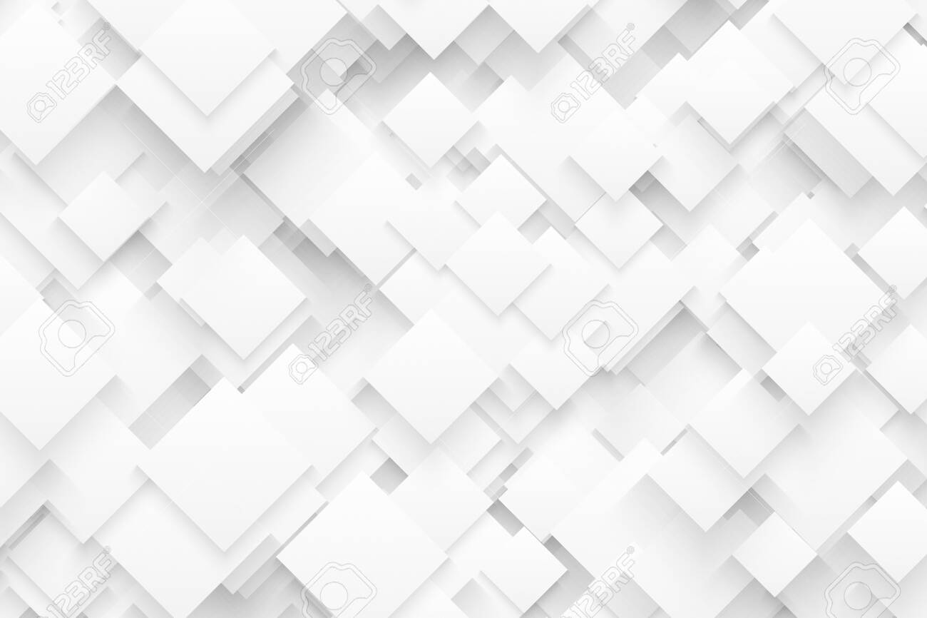 Abstract 3d Technology White Background In Ultra High Definition