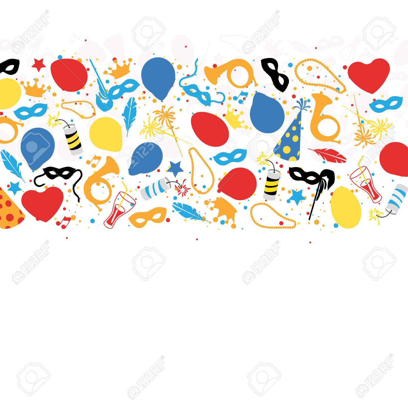 Carnival, Festival, Party, Birthday Decoration, Vector - 44037199