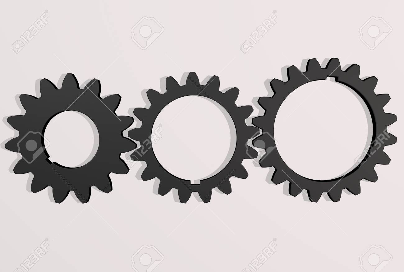 Gears engaging each other - 66024544