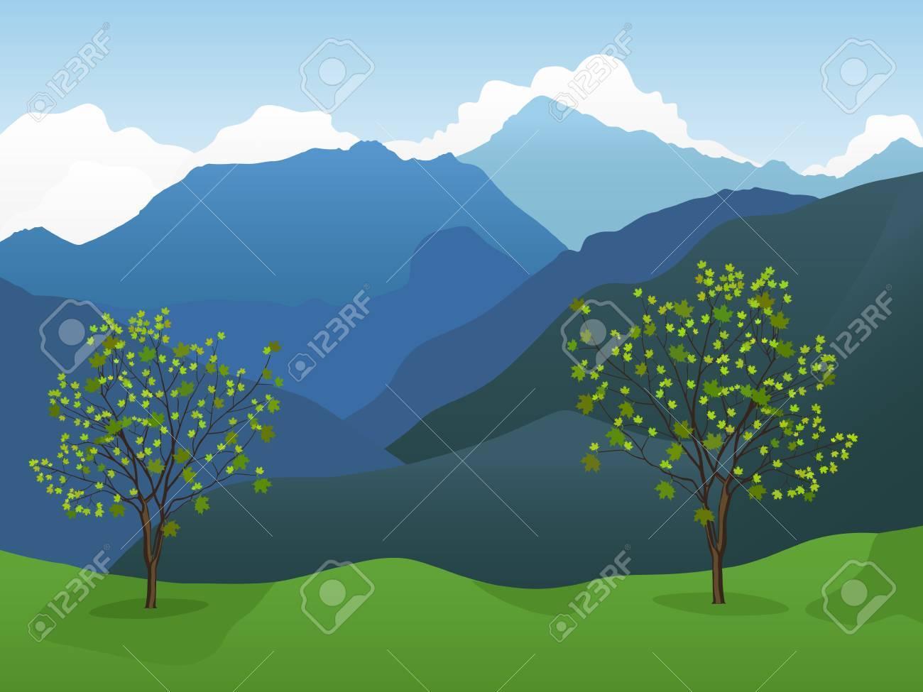 Mountain background - 9057470