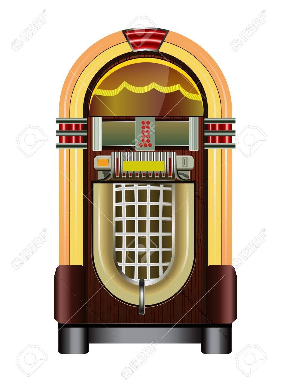 jukebox isolated on a white background - 11127488