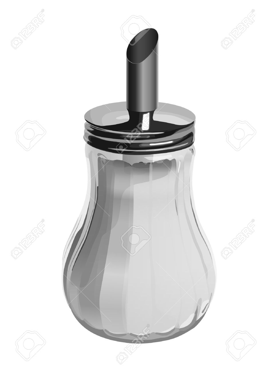 Sugar bowl isolated on a white background - 11950900