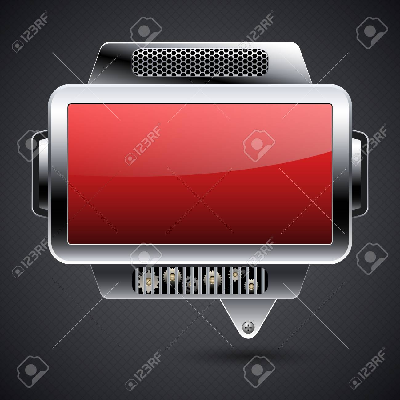 Abstract metal background Stock Vector - 14966260
