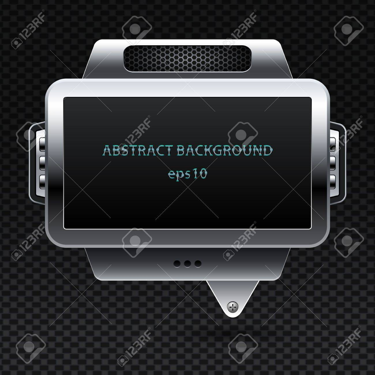 Abstract metal background Stock Vector - 15148876