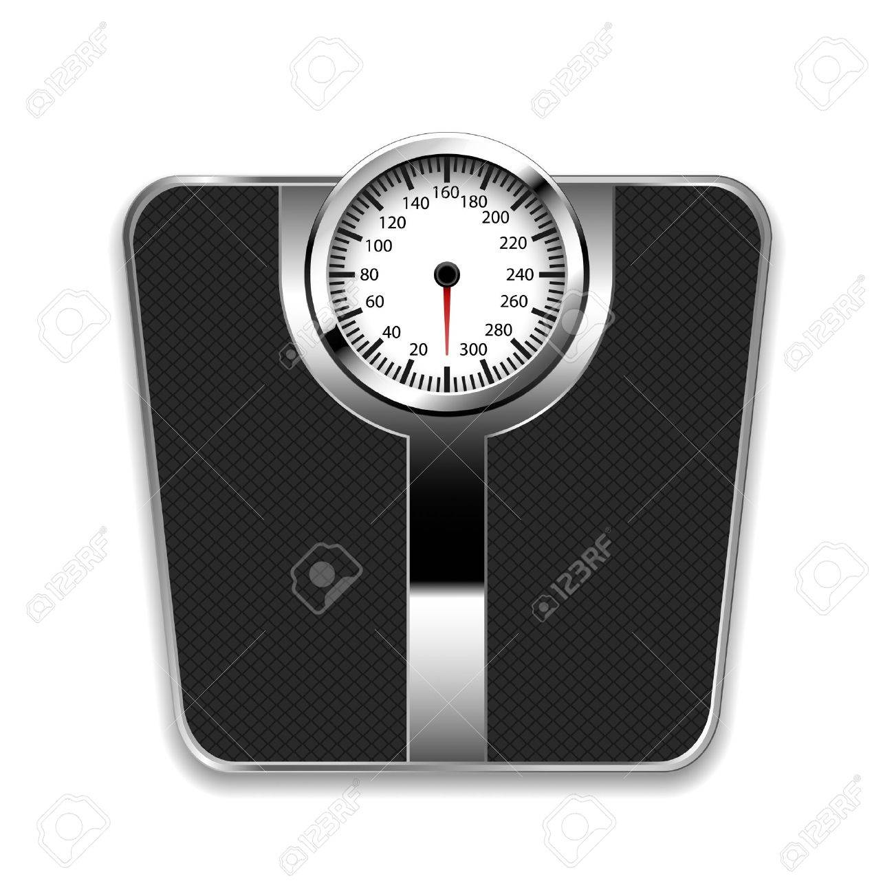 Bathroom Scale Stock Vector 15536160
