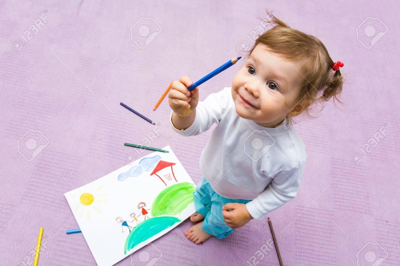 Mädchen bilder malen schöne Bilder Von