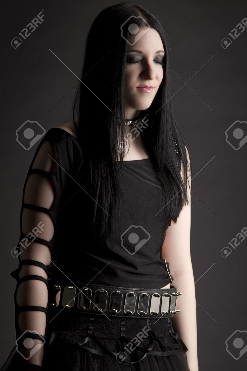 Teen goth pictures