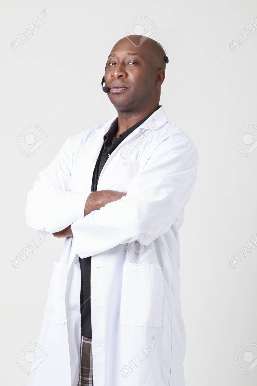 Adult black man