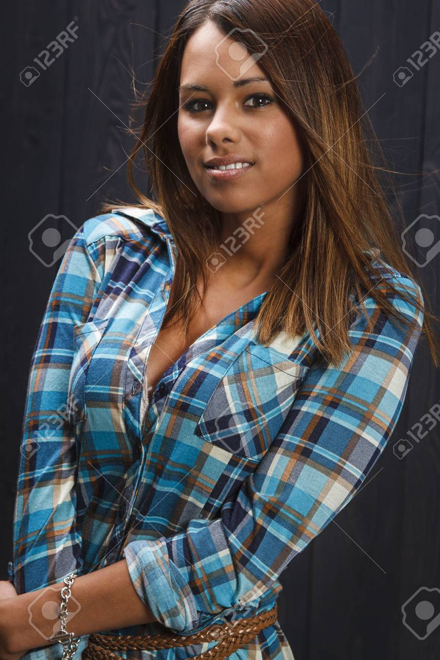 Sexy plaid shirt