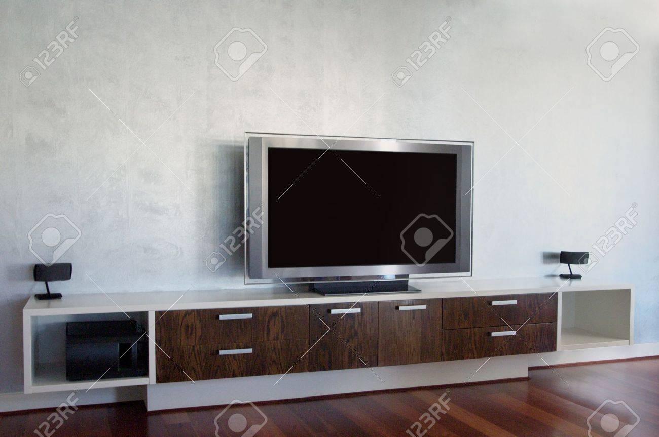 Perfect Home Theatre Furniture: Home Theatre Stock Photo