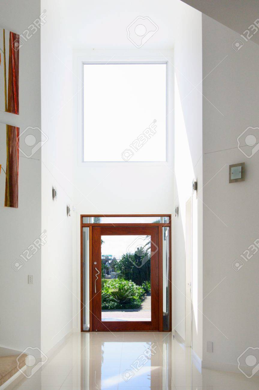ntrance Of Modern House With trium Stock Photo, Picture nd ... - ^
