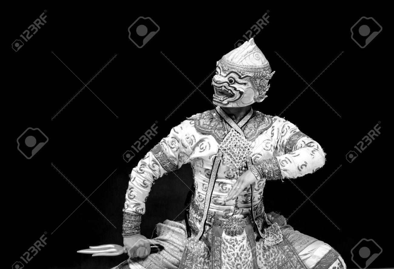asian and Thailand traditional performance drama call ramayana