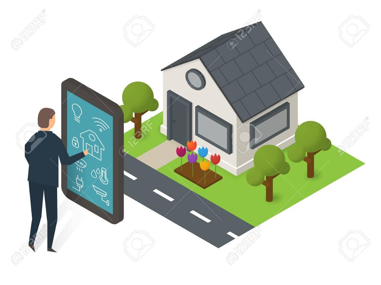 Smart house technology - 77689006