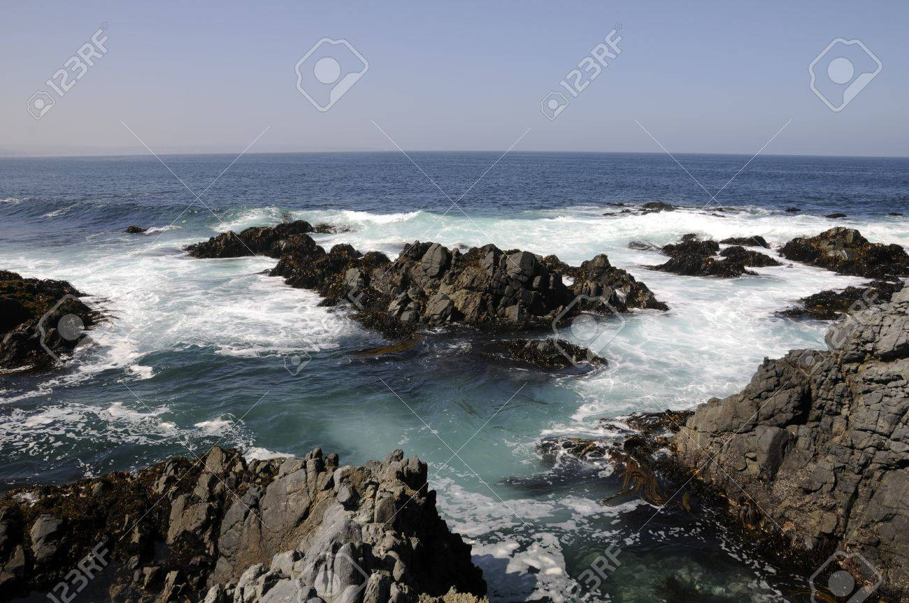 März Oceano Pacifico Chile Lizenzfreie Fotos Bilder Und Stock