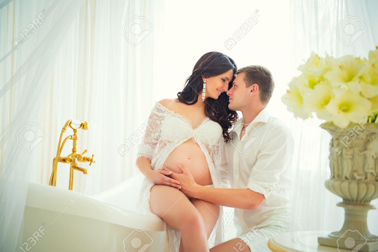 Фото беременных парами